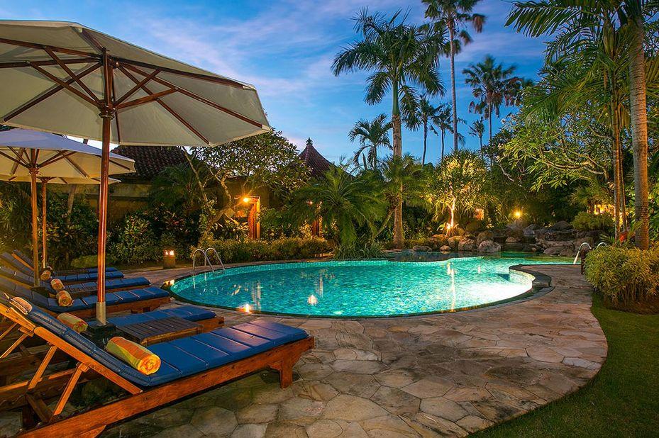 Parigata Villas Resort - zwembad - Sanur -Bali - Indonesie - foto: Parigata Villas Resort