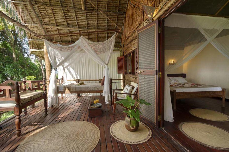 Pole Pole bungalows - interieur - Mafia Island - Tanzania - foto: Pole Pole