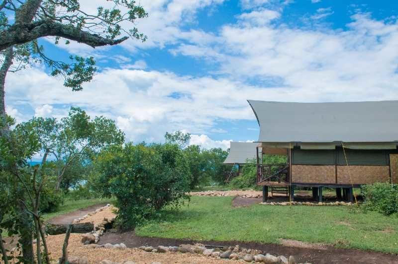 Queen Elizabeth Bush Lodge - banda - Oeganda - foto: Queen Elizabeth Bush Lodge