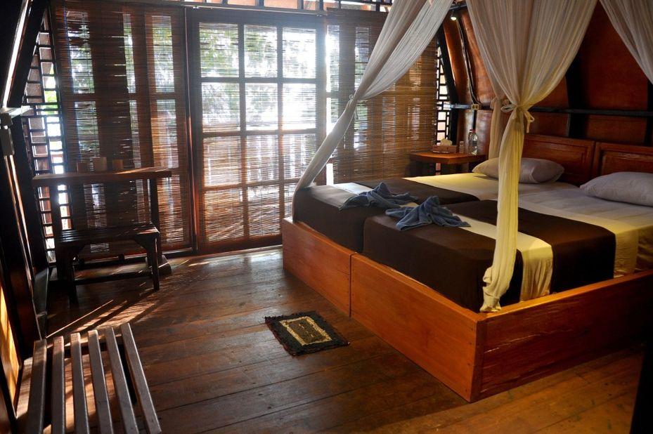Raja Ampat Dive Resort - kamer -Papua - Indonesie - foto: Raja Ampat Dive Resort