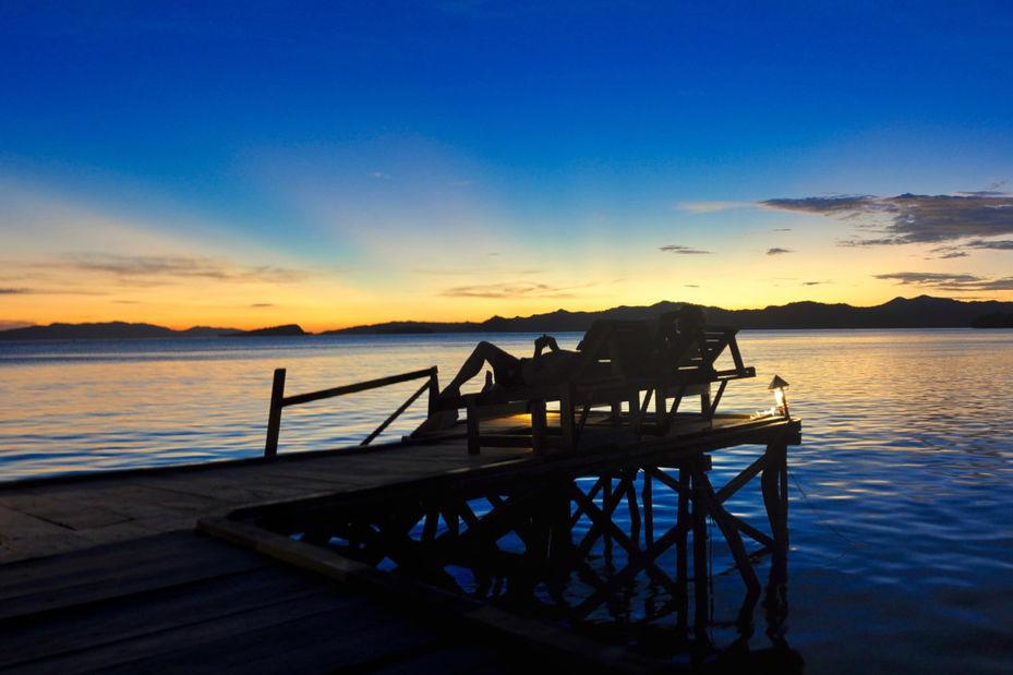 Raja Ampat Dive Resort - steiger -Papua - Indonesie - foto: Raja Ampat Dive Resort