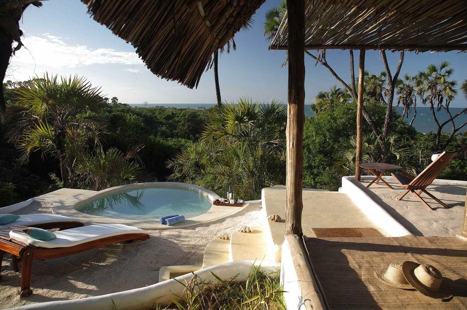 Ras Kutani - zwembad - suite -  Swahili Coast - Tanzania - foto: Ras Kutani