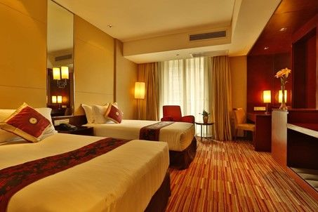 Rayfont Downhotel - Kamer - China - foto: Rayfont Downtown Hotel Shanghai