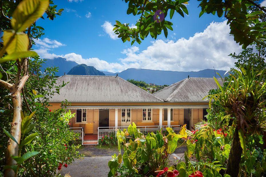 Relais des Gouverneurs - omgeving - Hell-Bourg - Salazie - Réunion - foto: Relais des Gouverneurs
