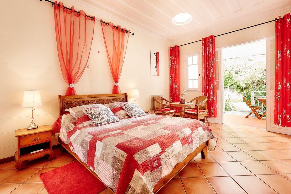 Relais des Gouverneurs - slaapkamer - Hell-Bourg - Salazie - Réunion - foto: Relais des Gouverneurs