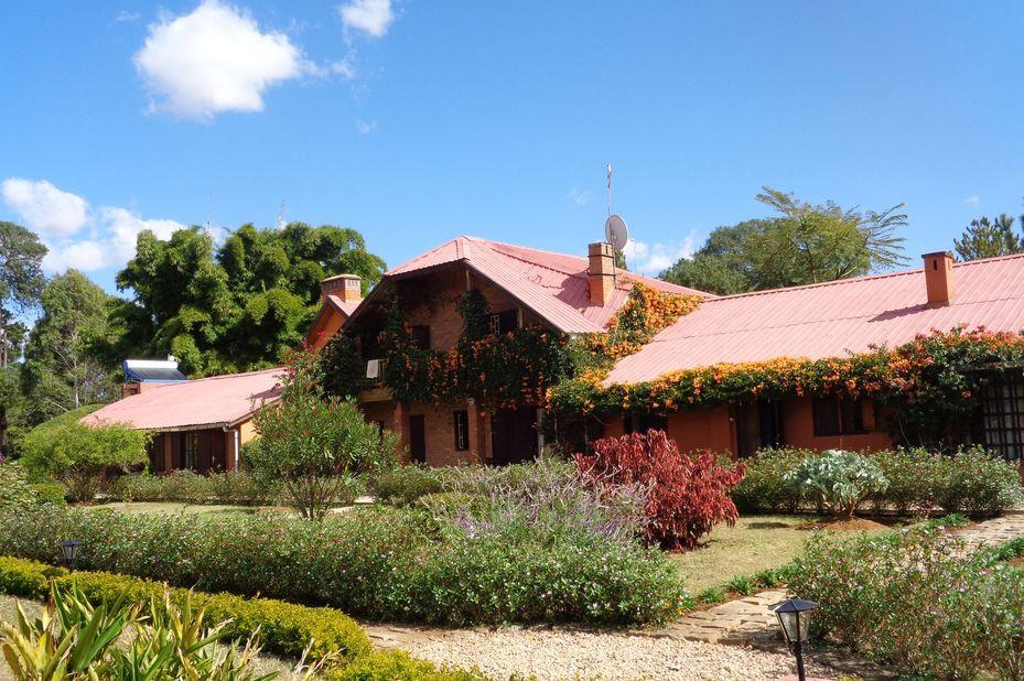Residence Madalief - hoofdgebouw - Antsirabe - Madagaskar - foto: Residence Madalief