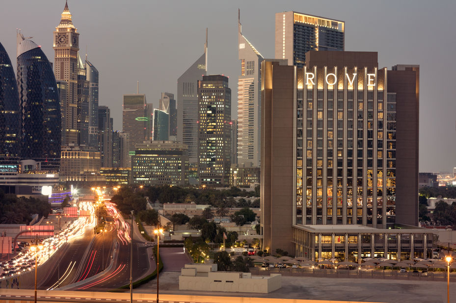 Rove Downtown - exterior - Dubai - foto: Rove Downtown