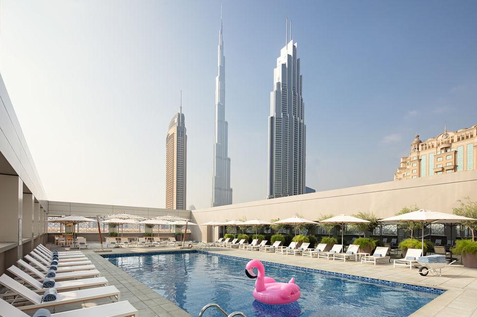 Rove Downtown - zwembad - Dubai - foto: Rove Downtown