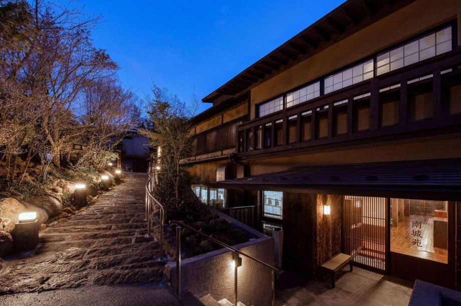 Ryokan Nanjoen - exterieur buiten - Kurokawa Onsen - Japan - foto: Ryokan Nanjoen