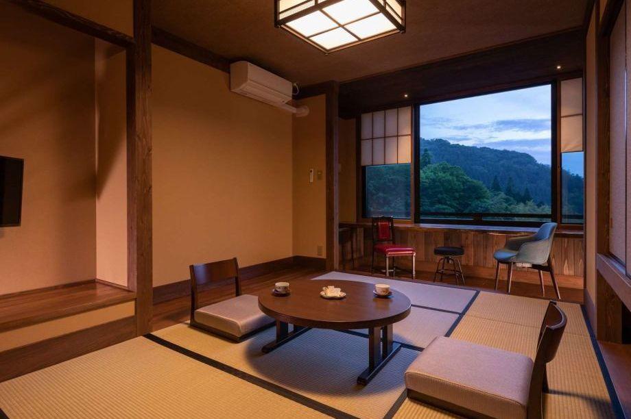 Ryokan Nanjoen - tatami traditionele kamer - Kurokawa Onsen - Japan - foto: Ryokan Nanjoen