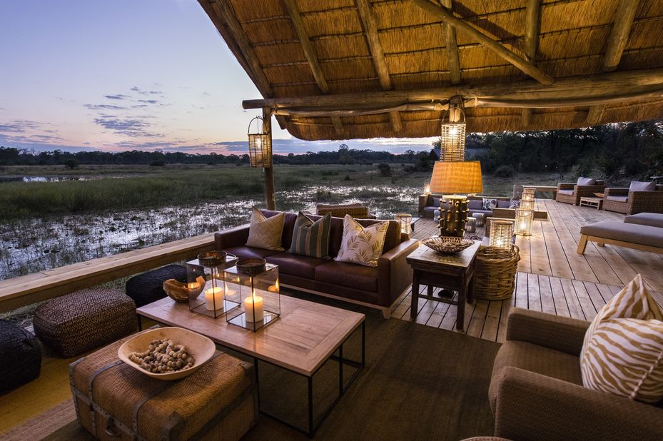 Sable Alley Lodge - lounge - Khwai - Okavango Delta - Botswana - foto: Sable Alley Lodge