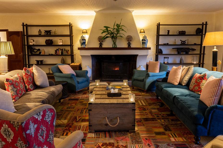 Sabyinyo Silverback Lodge - lounge - Volcanoes - Rwanda - foto: Sabyinyo Silverback Lodge