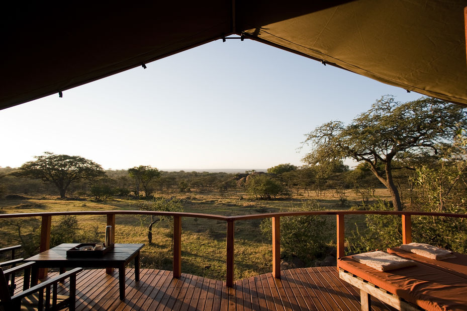Sanctuary Kusini luxury lodge - uitzicht - Serengeti - Tanzania - foto: Sanctuary Kusini Camp