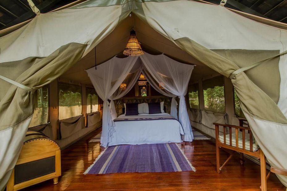 Sarova Mara Game Camp - standaard tent - Masai Mara - Kenia - foto: Sarova Mara Game Camp
