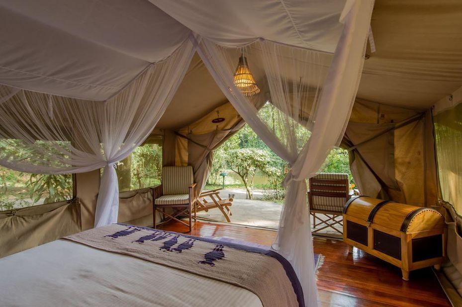 Sarova Mara Game Camp - standard tent - Masai Mara - Kenia - foto: Sarova Mara Game Camp