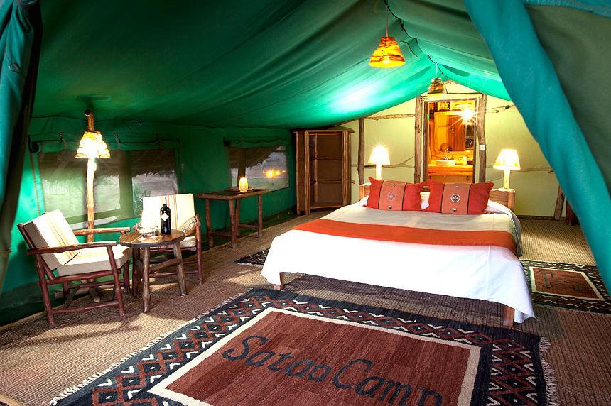 Satao Camp - tent - Tsavo National Park - Kenia - foto: Satao Camp