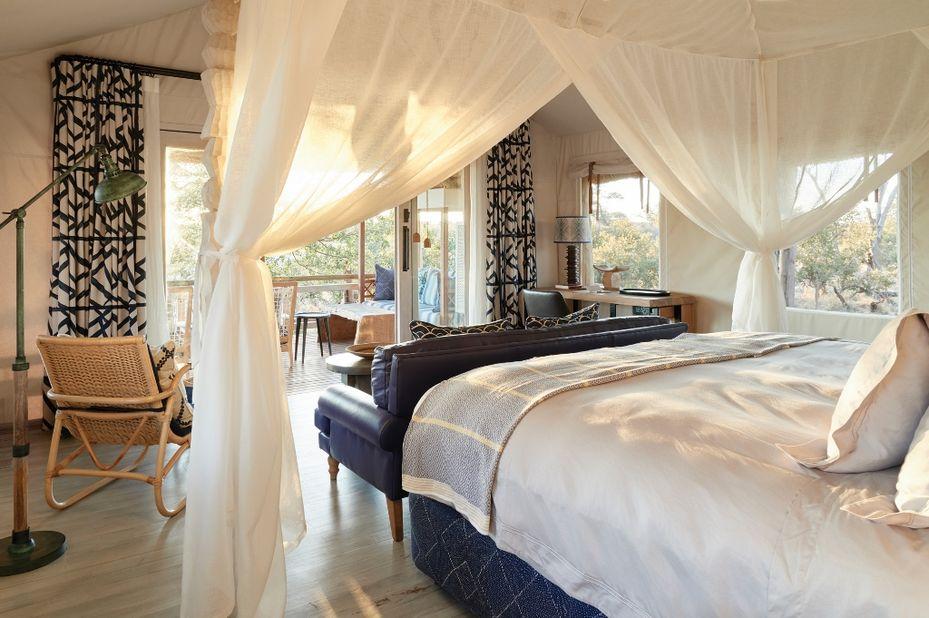 - foto: Belmond Savute Elephant Lodge