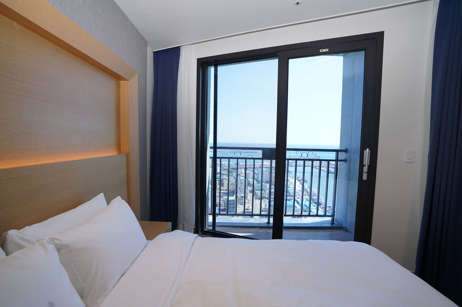 Sea Cruise Hotel, Sokcho, Tweepersoonskamer Zeezicht, Zuid-Korea - foto: agent