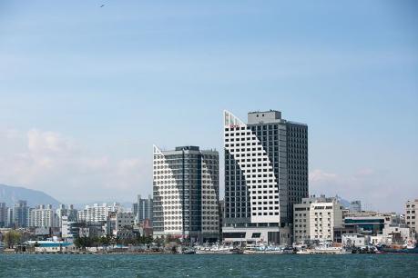 Sea Cruise Hotel, Sokcho, voorzijde, Zuid-Korea - foto: agent