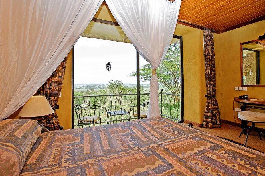 Serengeti Sopa Lodge - kamer - interieur - Tanzania - foto: Sopa Lodges