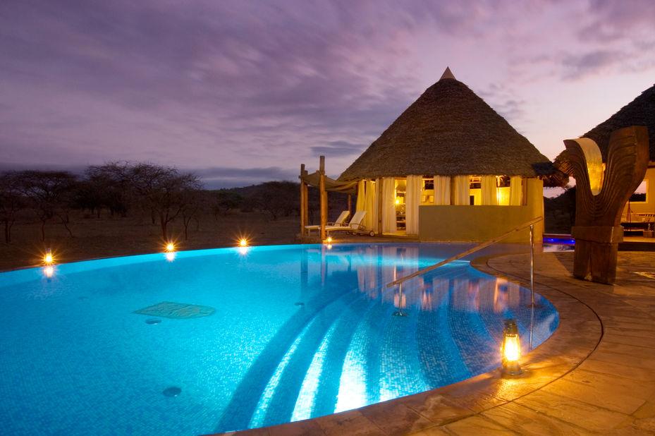 Severin Safari Camp - Kenbali spa - Tsavo - Kenia - foto: Severin Safari Camp