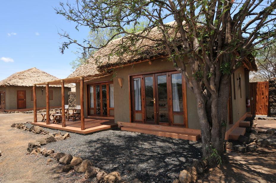 Severin Safari Camp - junior suite - exterior - Tsavo - Kenia - foto: Severin Safari Camp