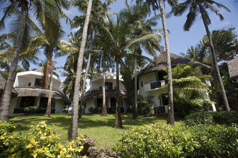 Severin Sea Lodge - bungalows - Mombasa - Kenia - foto: Severin Sea Lodge
