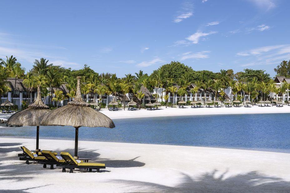 Shangri-La Le Touessrok - strand - oostkust Mauritius - foto: Shangri-La Le Touessrok