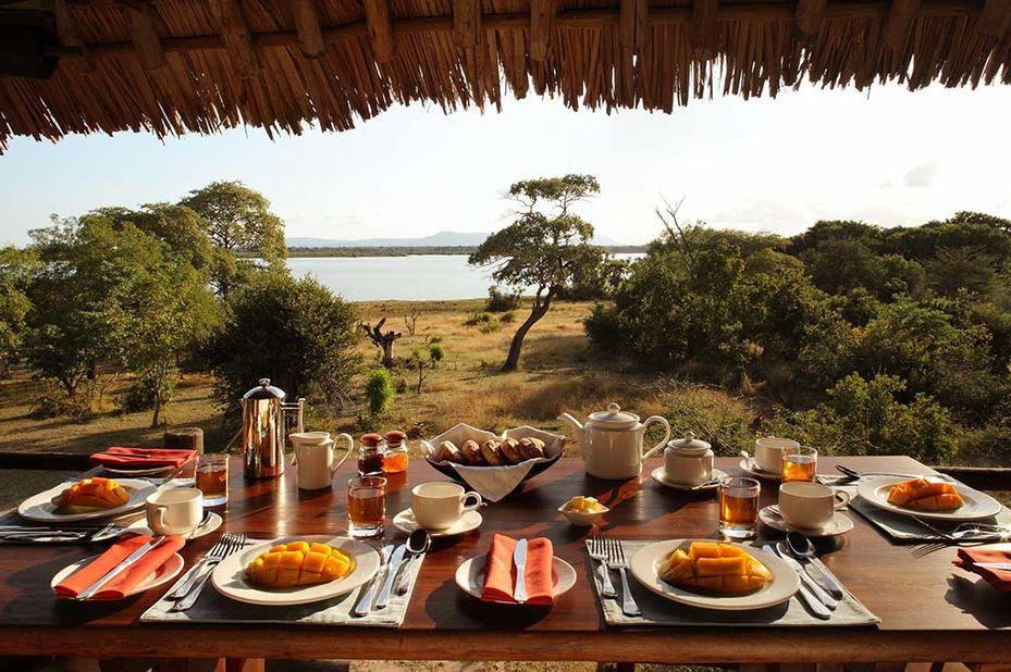 Siwandu - restaurant - Selous Game Reserve - Tanzania - foto: Siwandu