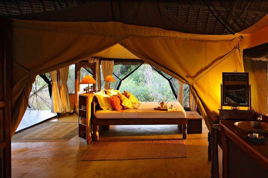 Siwandu - tent  - Selous Game Reserve - Tanzania - foto: Siwandu
