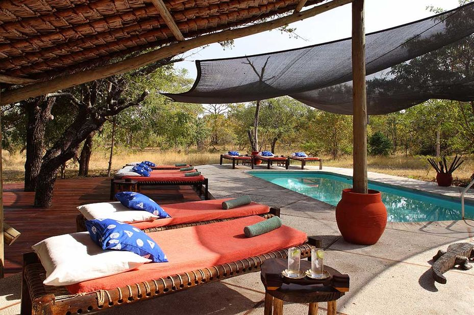 Siwandu - zwembad - Selous Game Reserve - Tanzania - foto: Siwandu