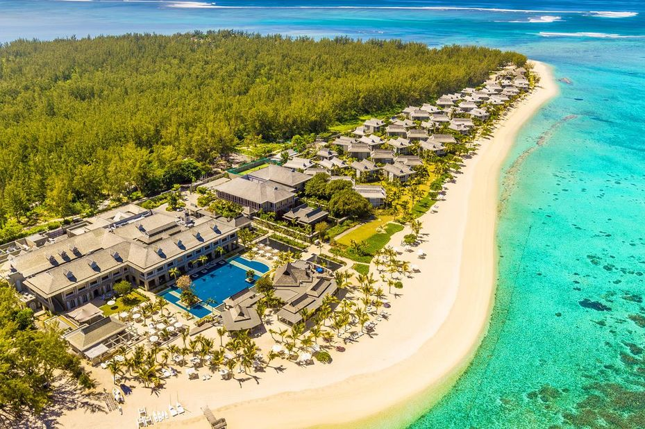 St Regis Mauritius Resort - omgeving - Le Morne - Mauritius - foto: St Regis Mauritius Resort