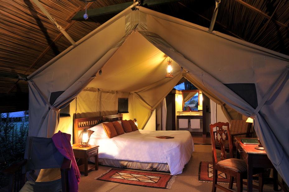 Sweetwaters Serena Camp - standard tent - Kenia - foto: Serena Hotels & Resorts