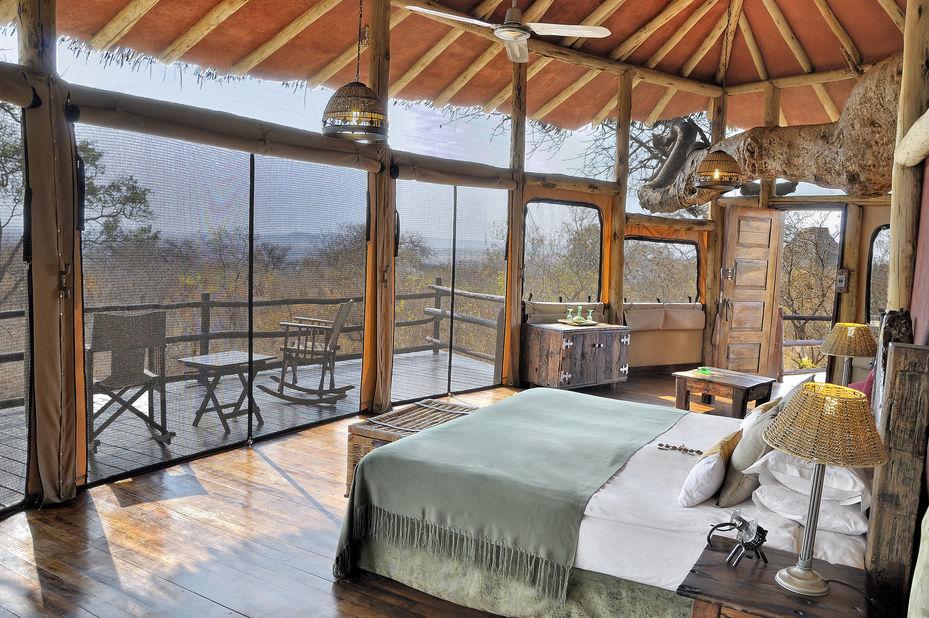 Tarangire Treetops Camp - chalet - interieur - Tanzania