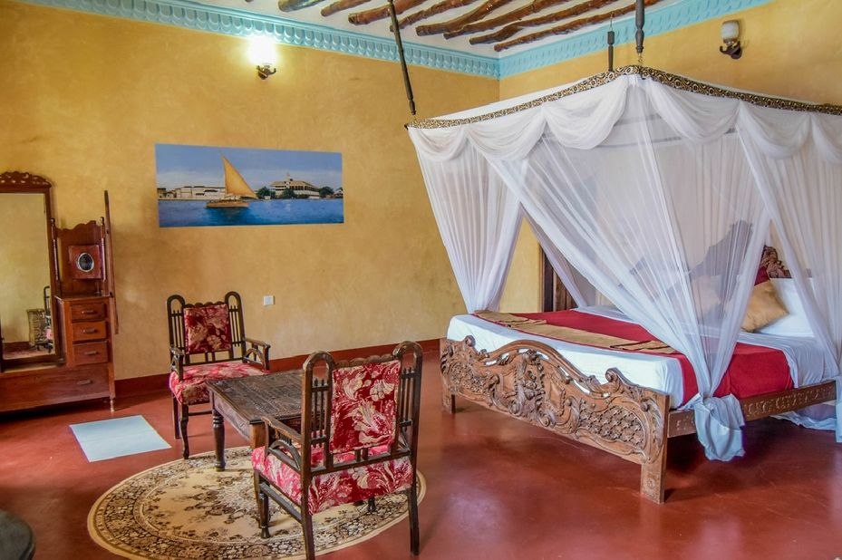 Tembo Hotel - kamer- Stone Town - Tanzania - foto: Tembo Hotel