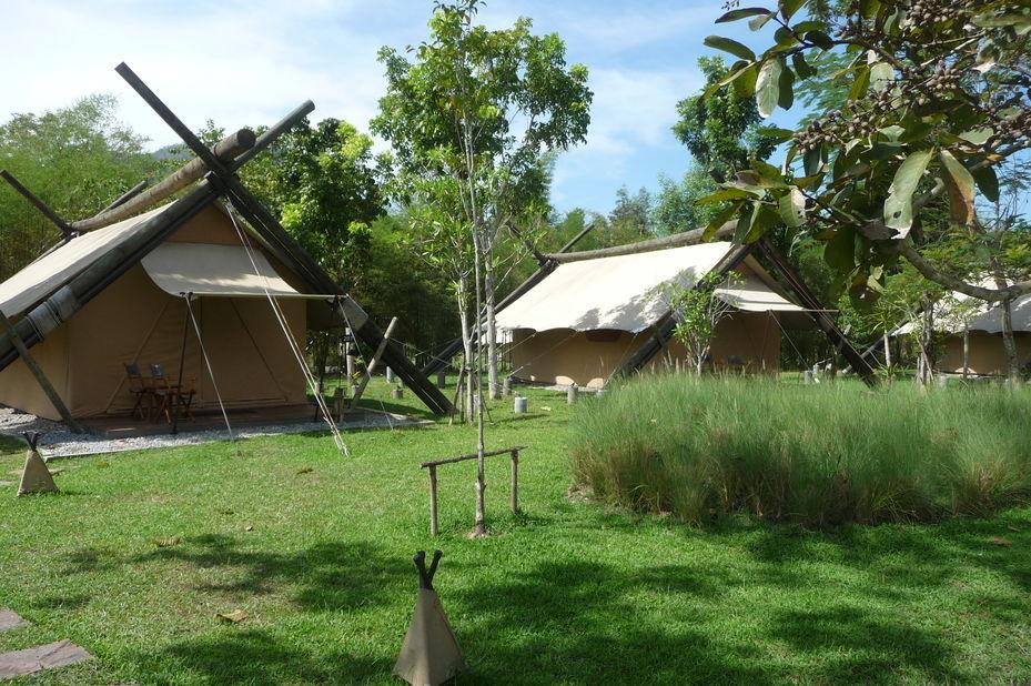 tenten Lala Mukha Tented Resort - Khao Yai National Park - Thailand - foto: Floor Ebbers