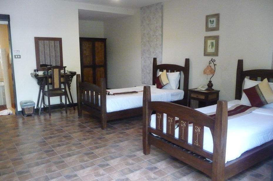 kamer PhuWanalee Resort - Khao Yai National Park - Thailand - foto: Floor Ebbers