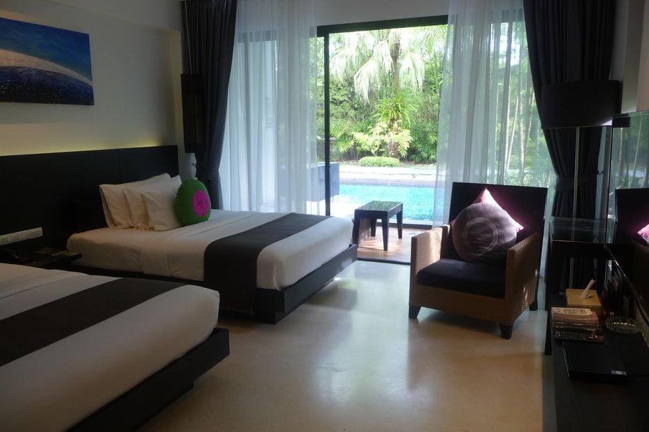 kamer - The Chill Resort & Spa - Koh Chang - Thailand - foto: Floor Ebbers