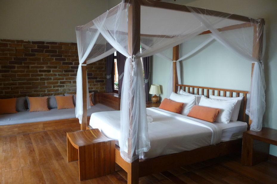kamer Peter Pan Resort - Koh Kood - Thailand - foto: Floor Ebbers