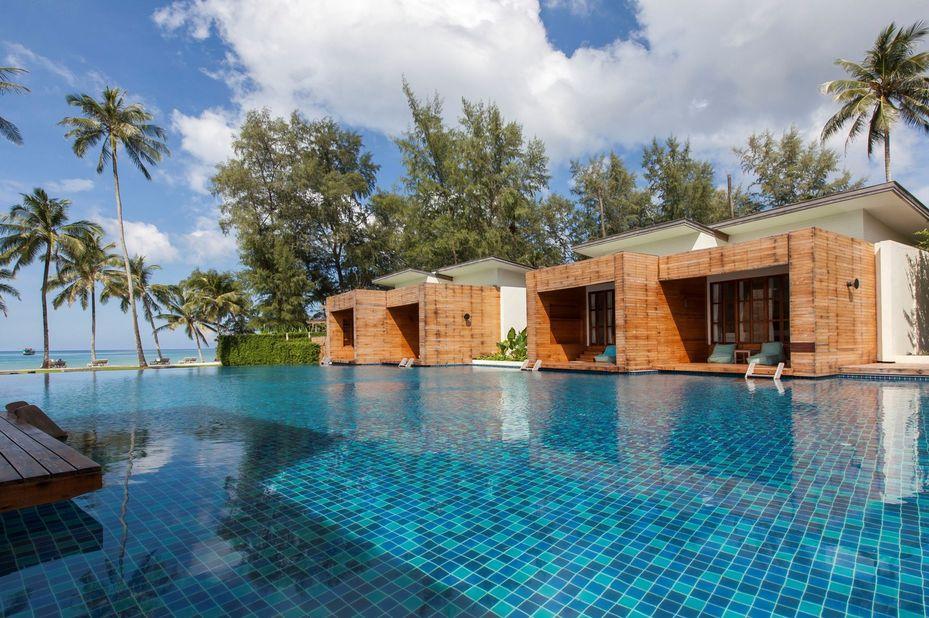 kamers aan zwembad - Wendy The Pool - Koh Kood - Thailand - foto: Wendy The Pool