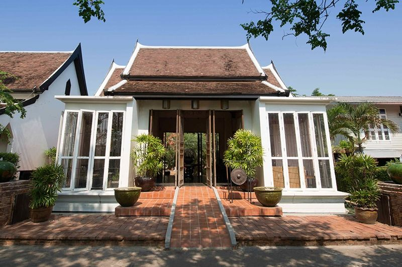 Tharaburi Resort - entree - Sukhothai -Thailand - foto: Tharaburi Resort