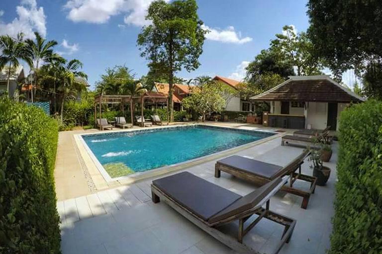 Tharaburi Resort - zwembad - Sukhothai - Thailand - foto: Tharaburi Resort