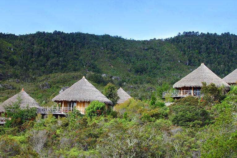 The Baliem Valley Resort - overzicht - Wamena - Baliem Vallei - Indonesie - foto: The Baliem Valley Resort