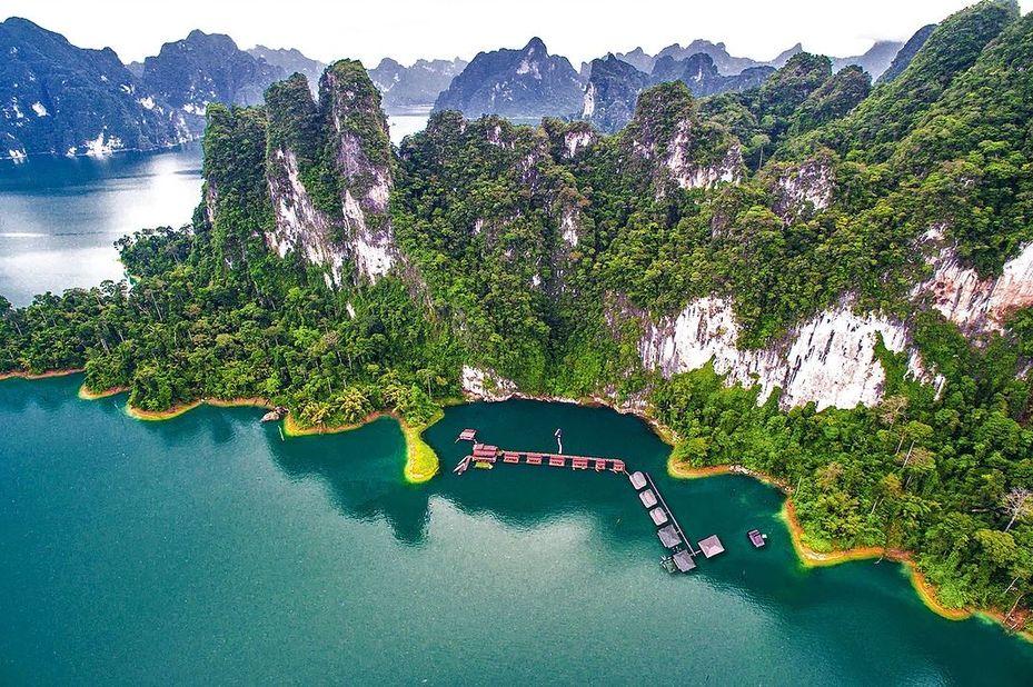 Uitzicht The Greenery Panvaree in Khao Sok - Thailand