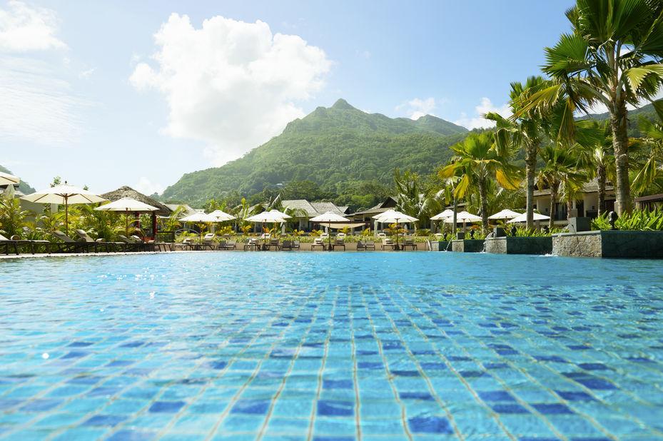 The H Resort - zwembad - Mahe - Seychellen - foto: The H Resort