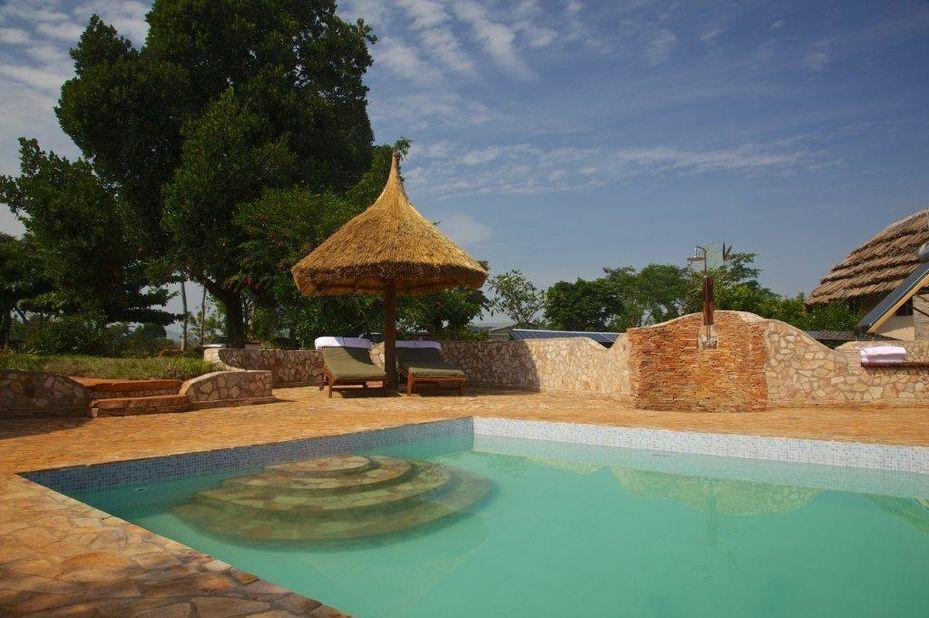 The Haven - zwembad - Jinja - Oeganda - foto: The Haven