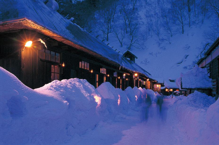 Tsurunoyu Onsen Ryokan - winter - Semboku - Japan - foto: JNTO