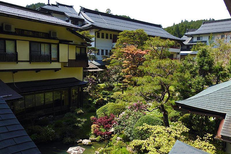 Tuin - Sekishoin - Koyasan - Mount Koya - Japan   - foto: Sekishoin