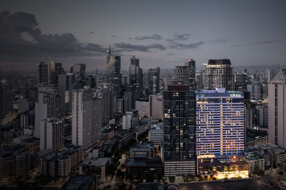 Uitzicht op Makati Diamond Residences - Manila - Filipijnen - foto: Makati Diamond Residences