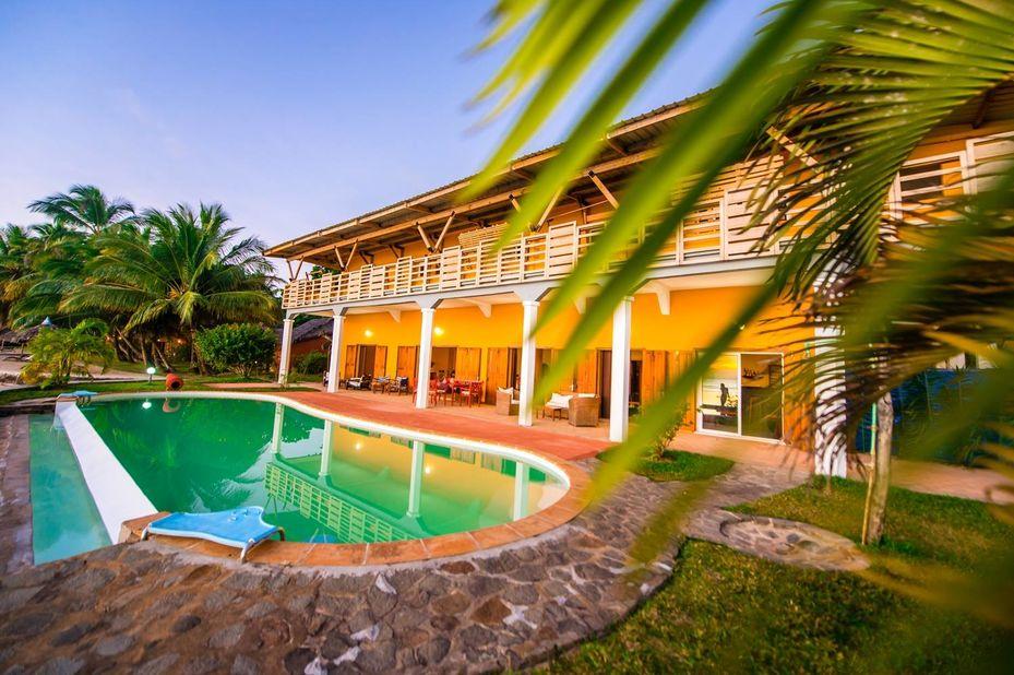 Vanivola Hotel - zwembad - Ile St Marie - Madagaskar - foto: Vanivola Hotel